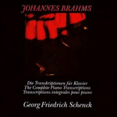 Johannes Brahms The Complete Piano Transcriptions