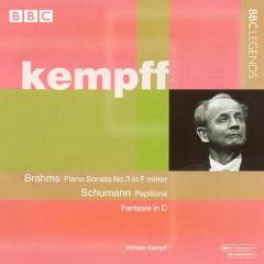 Brahms - Piano Sonata No. 3; Schumann - Papillons; Fantasie In C (No. 1)
