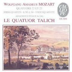 Mozart - String quartets Nos. 22 And Nos. 23