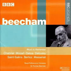 Chabrier, Mozart, Delius, Debussy, Saint Saëns, Berlioz, Massenet - Thomas Beecham,Royal Philharmonic Orchestra