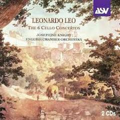 Leonardo Leo - The 6 Cello Concertos CD 2