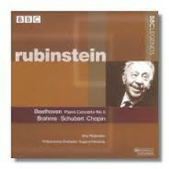 Beethoven - Piano Concerto No. 5 & Brahms, Schubert, Chopin - Arthur Rubinstein,Eugene Ormandy,Philharmonia Orchestra