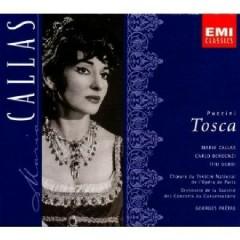 Puccini - Tosca CD 1  - Georges Prêtre,Maria Callas,La Chorale Des Enfants De L'Opera De Paris