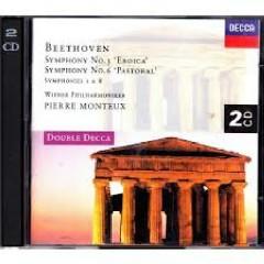 Beethoven - Symphonies Nos. 1, 3, 6, 8 CD 2
