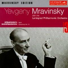 Stravinsky - Agon; Shostakovich - Symphony No. 15 (No. 2) - Yevgeny Mravinsky