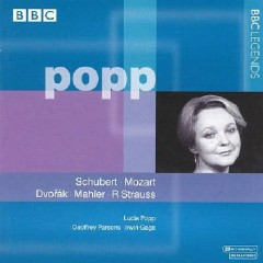Lucia Popp sings Schubert, Mozart, Dvorák, Gustav Mahler & Richard Strauss (No. 2)