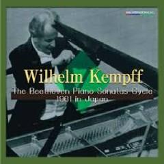 The Beethoven Piano Sonatas Cycle 1961 In Japan Dics 9 - Wilhelm Kempff