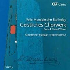 Geistliches Chorwerk - Sacred Choral Works CD 8 (No. 1) - Frieder Bernius,Kammerchor Stuttgart