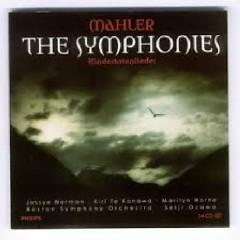 Mahler - The Symphonies - Kindertotenlieder CD 9 - Seiji Ozawa,Boston Symphony Orchestra