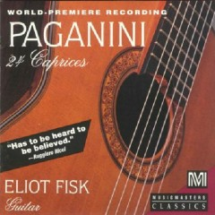 Niccolò Paganini - 24 Caprices (No. 2) - Eliot Fisk