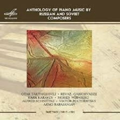 Anthology Of Piano Music By Russian And Soviet Composers 2 (No. 1)