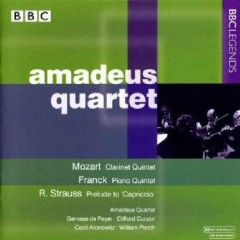 Amadeus Quartet Plays Mozart & Franck