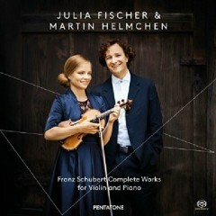 Schubert - Complete Works For Violin And Piano CD 1  - Julia Fischer,Martin Helmchen