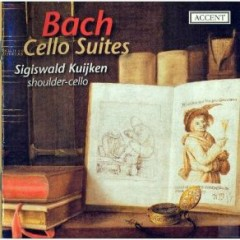 Bach - Cello Suites, Shoulder - Cello CD 2