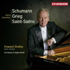 Grieg, Schumann, Saint-Saens - Piano Concertos  - Howard Shelley