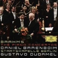 Brahms - The Piano Concertos Disc 1 - Gustavo Dudamel,Daniel Barenboim,Staatskapelle Berlin