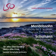 Mendelssohn - Symphony No 3, Schumann - Piano Concerto CD 1  - Maria Joao Pires,John Eliot Gardiner,London Symphony Orchestra