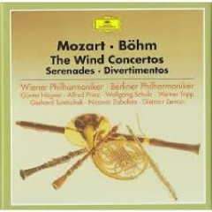 Mozart - The Wind Concerto, Serenades, Divertimentos CD 1  - Karl Böhm,Wiener Philharmoniker,Berliner Philharmoniker