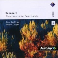 Schubert - Piano Works For Four Hands CD 1 (No. 2) - Anne Queffelec,Imogen Cooper