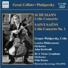 Schumann, Saint-Saëns - Cello Concertos