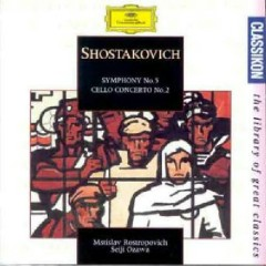 Shostakovich - Symphony No.5; Cello Concerto No.2