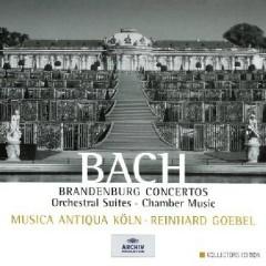 Bach - Brandenburg Concertos, Orchestral Suites, Chamber Music CD 8 - Reinhard Goebel,Musica Antiqua Koln