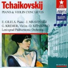Tchaikovsky - Piano & Violin Concertos - Dmitri Kitajenko,Emil Gilels,Gidon Kremer