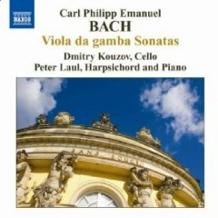 C.P.E. Bach - Viola Da Gamba Sonatas