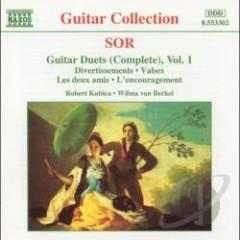 Sor - Complete Guitar Duets, Vol. 1 (No. 2) - Robert Kubica,Wilma van Berkel