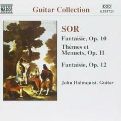 Sor - Guitar Music Op. 10 - Op. 12 - John Holmquist