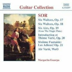 Sor - Guitar Music Op. 17 - Op. 21 (No. 1) - Margarita Escarpa