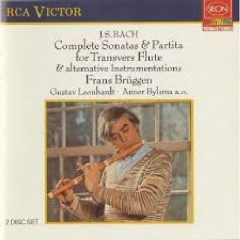 Bach - Complete Sonatas & Partita For Transverse Flute And Alternative Instrumentations CD 1