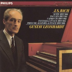 Gustav Leonhardt Plays Bach (No. 1)