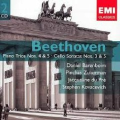 Beethoven - Piano Trios Nos. 4 & 5; Cello Sonatas Nos. 3 & 5 CD 1