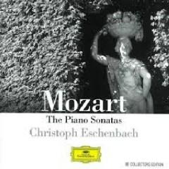 Mozart - The Piano Sonatas CD 2 - Christoph Eschenbach