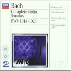 Bach - Complete Violin Sonatas CD 1 (No. 1)