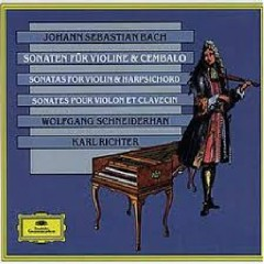 Bach - Sonaten Für Violine Und Cembalo CD 2 - Wolfgang Schneiderhan, Karl Richter