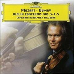 Mozart - Violin Concertos Nos. 3, 4 & 5