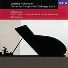 Stravinsky - Piano Concerto; Ebony Concerto; Capriccio; Movements Olli Mustonen - Vladimir Ashkenazy, Various Artists