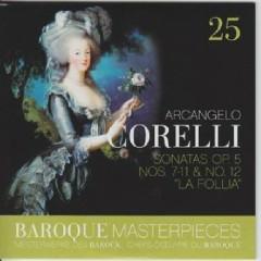 Baroque Masterpieces CD 25 - Corelli Sonatas Op. 5 (No. 1) - Frans Brüggen, Anner Bylsma