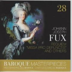 Baroque Masterpieces CD 28 - Fux Requiem