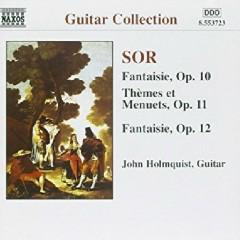 Sor - Guitar Music Op. 10 - 12 Complete Guitar Music 8 (No. 1) - John Holmquist