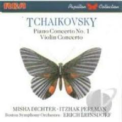 Tchaikovsky - Piano Concerto No 1, Violin Concerto - Itzhak Perlman