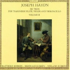 Haydn - Six Trios For Transverse Flute, Violin & Cello, Vol. 2 (No. 2)