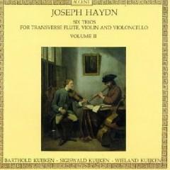 Haydn - Six Trios For Transverse Flute, Violin & Cello, Vol. 2 (No. 2) - Sigiswald Kuijken, Wieland Kuijken, Barthold Kuijken