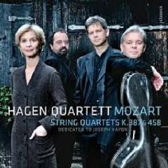 Mozart - String Quartets K 387 & K 458 - Hagen Quartett