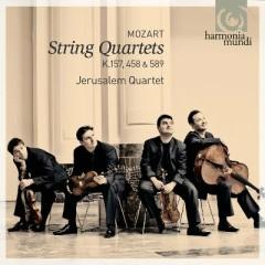 Mozart - String Quartets K. 157, 458 & 589 - Jerusalem Quartet