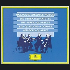 Mozart - The String Quartets CD 2 (No. 1) - Amadeus Quartet
