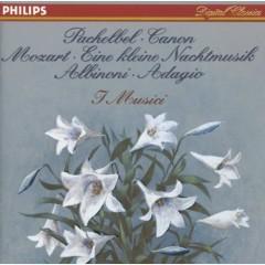 Pachelbel - Canon; Mozart - Eine kleine Nachtmusik; Albinoni - Adagio - I Musici