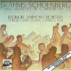 Brahms-Schoenberg - Piano Quartet - Sergiu Comissiona , Baltimore Symphony Orchestra